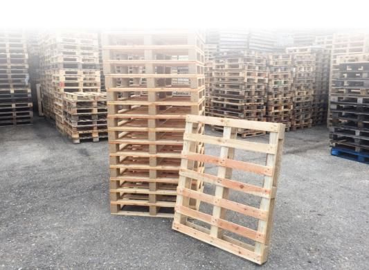 Is the disposal of your pallets costing you a fortune?